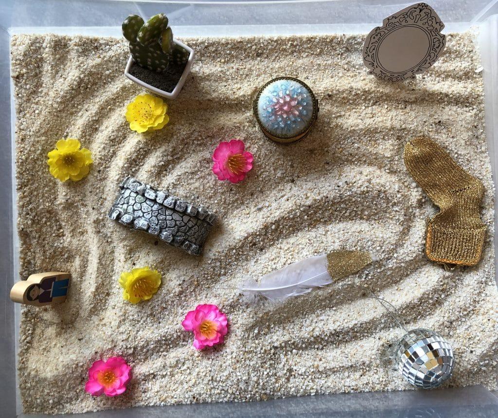 therapie jeu de sable